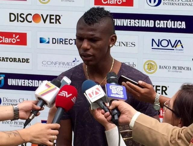 Arboleda assinará contrato até dezembro de 2020 com o São Paulo (Foto: Divulgação/Universidad Católica do Equador)