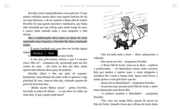 Aplicativo Kindle é ideal para quem usa um e-reader da Amazon (Foto: Reprodução/Filipe Garrett)