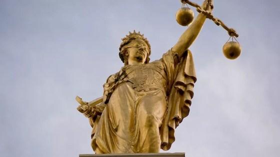A estátua da Justiça tem origem na deusa grega Têmis (Foto: Wikicommons)