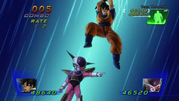 Cena de 'Dragon Ball Z Kinect' (Foto: Reprodução)