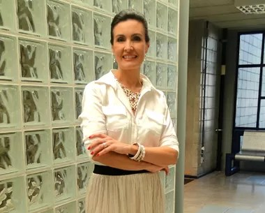 Look do dia 1/01 (Foto: Encontro com Fátima Bernardes/TV Globo)