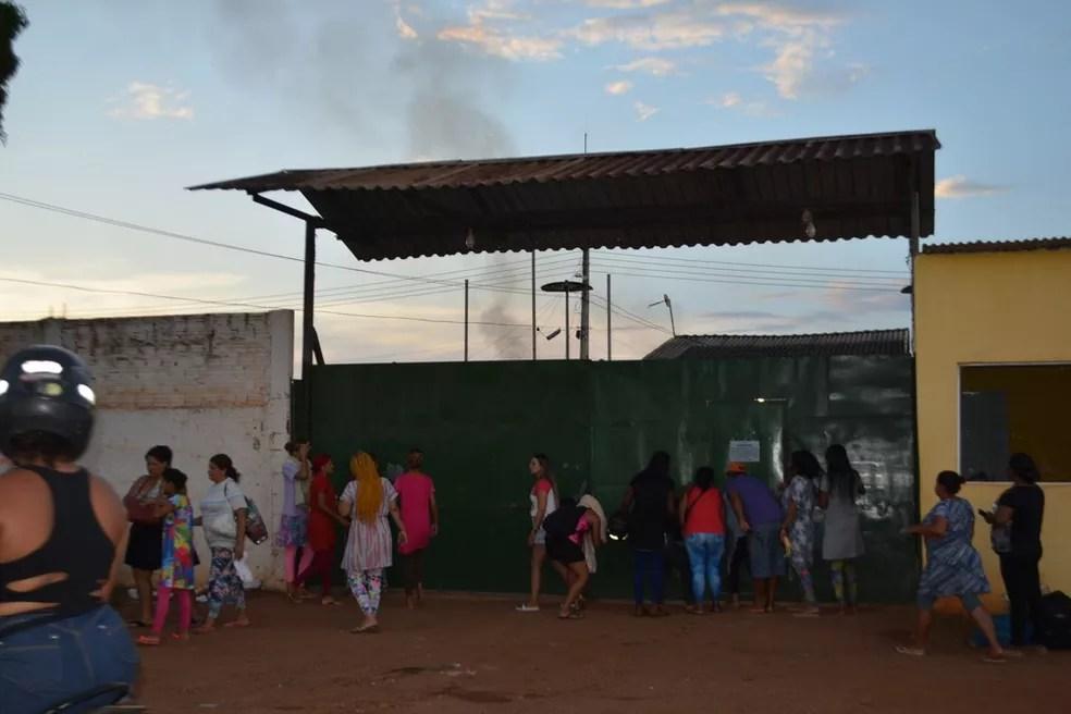 Presídio Ênio Pinheiro.  — Foto: Hosana Morais/Rede Amazônica