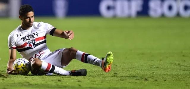 São Paulo x Atlético-PR Alan Kardec (Foto: Marcos Ribolli)