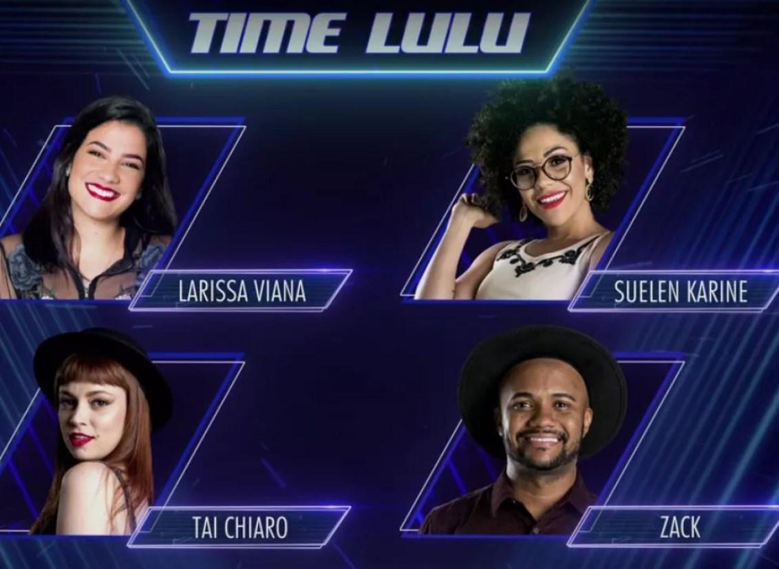 Time Lulu (Foto: TV Globo)