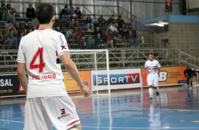 Futsal- time do São Paulo/Bauru (Foto: Gabriel de Castro / FIB-SPFC)