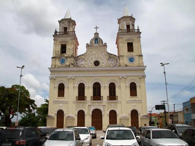 Catedral Basílica de Nossa Senhora das Neves, em João Pessoa — Foto: Rizemberg Felipe / Jornal da Paraíba