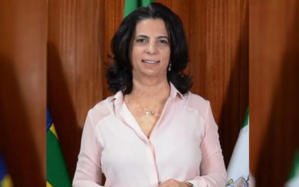Vereadora Cristina Lopes candidata à Prefeitura de Goiânia pelo PL — Foto: Reprodução/Câmara de Vereadores