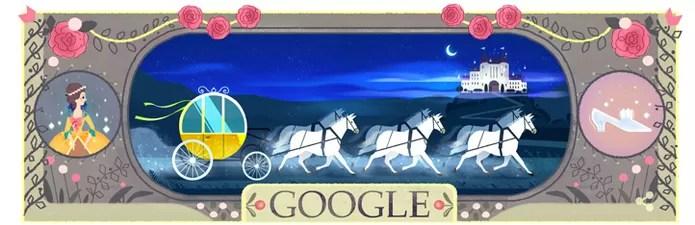 Doodle Charles Perrault (Foto: Reprodução/Google)