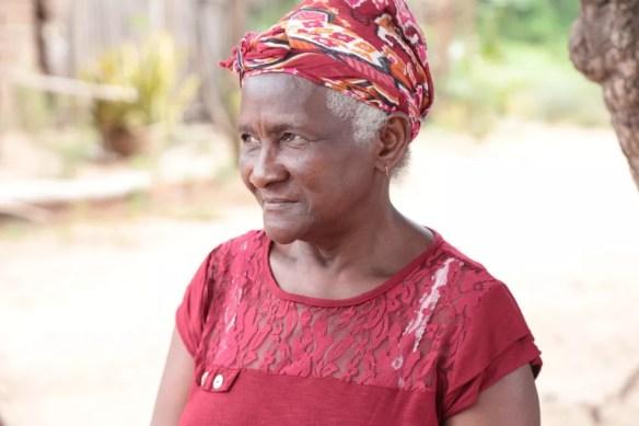 Dona Dijé tinha 70 anos e era líder quilombola no Maranhão — Foto: Junior Foicinha