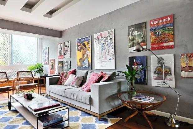 7 maneiras de organizar os quadros na parede  Casa e