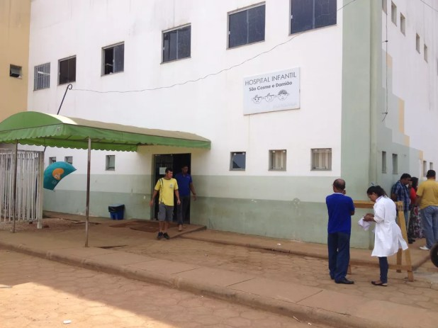 Criança segue em observação no Hospital Infantil Cosme e Damião em Porto Velho — Foto: Gaia Quiquiô/G1/Arquivo