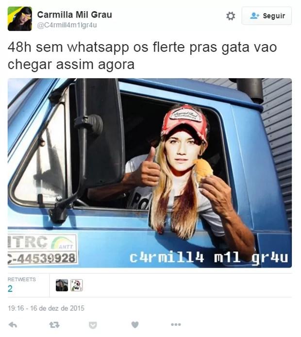 Usuário do Twitter pensa em alternativas para xaveco com proibição do WhatsApp no Brasil