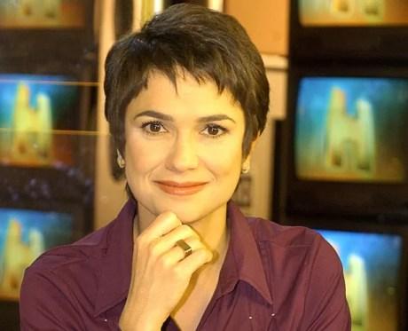 Sandra Annenberg (Foto: Zé Paulo Cardeal / TV Globo)