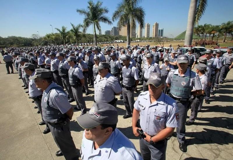 PM de SP tem seleção aberta para preencher 2,7 mil postos — Foto: Divulgação/Governo do Estado de SP