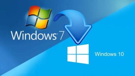 Resultado de imagem para migração. Windows 7 para Windows 10