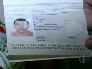 Elias sairá do país pela primeira vez para estudar em Portugal (Foto: Reprodução/ Inter TV)
