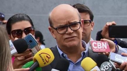 Delegado Amadeu Trevisan conduz a investigação do assassinato de Daniel  — Foto: Reprodução/RPC