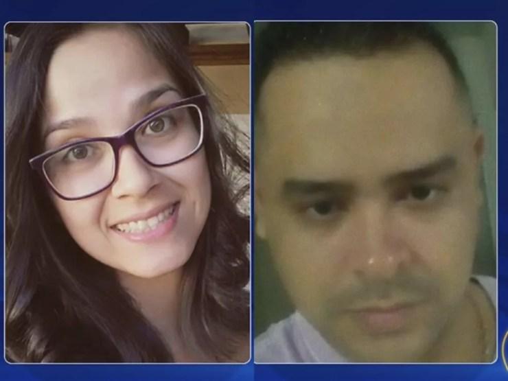 Tássia e Cleiton ainda estão internados após tiroteio (Foto: Reprodução/TV TEM)