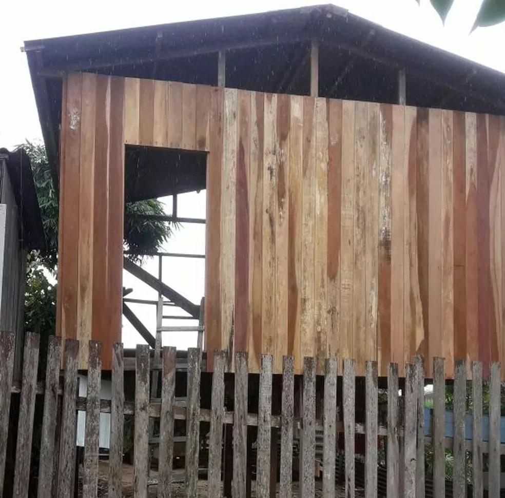 Secretário disse que homem concordou em demolir construção voluntariamente (Foto: Reprodução/Prefeitura de Rio Branco)