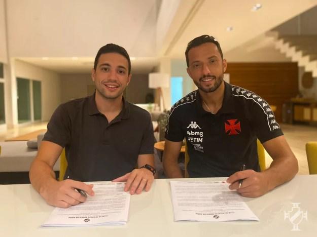 Nenê assinou contrato com o Vasco até o final de 2022 — Foto: Divulgação