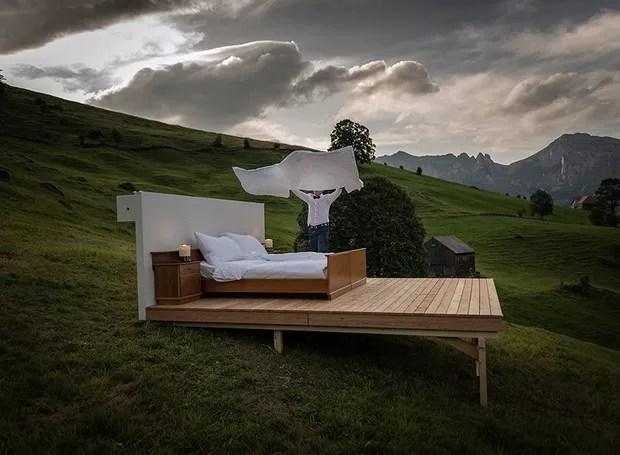Hotel Real State, na Suíça (Foto: Divulgação)