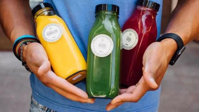 Empresa especializou-se em sucos  (Foto: Sunlife Organics/Divulgação/BBC)