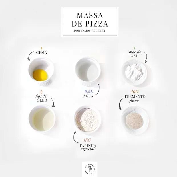 Receita de massa de pizza (Foto: Michelle Moll / Divulgação)