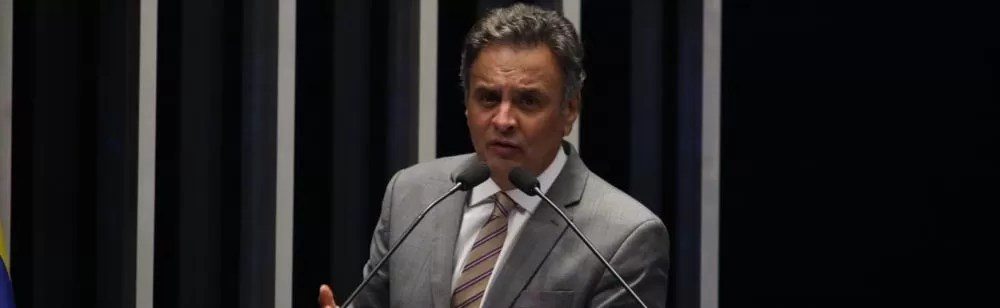 Senador Aécio Neves. (Foto: George Gianni)