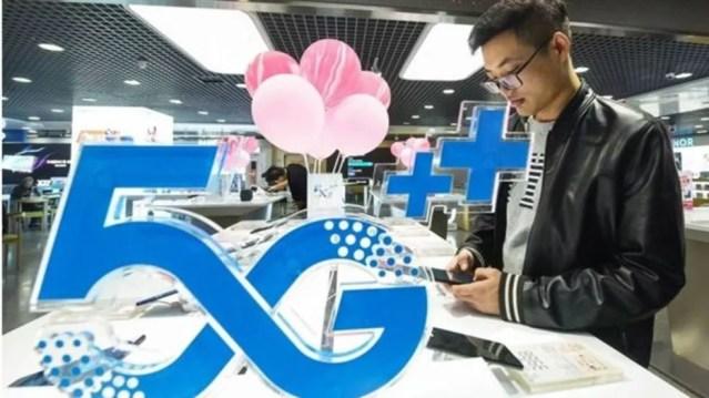 Podemos esperar o avanço acelerado da cobertura 5G no ano que vem — Foto: Getty Images/BBC