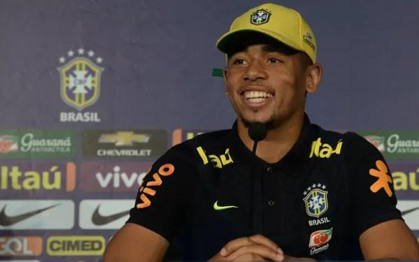 Gabriel Jesus Seleção Brasileira (Foto: Pedro Martins / MoWA Press)