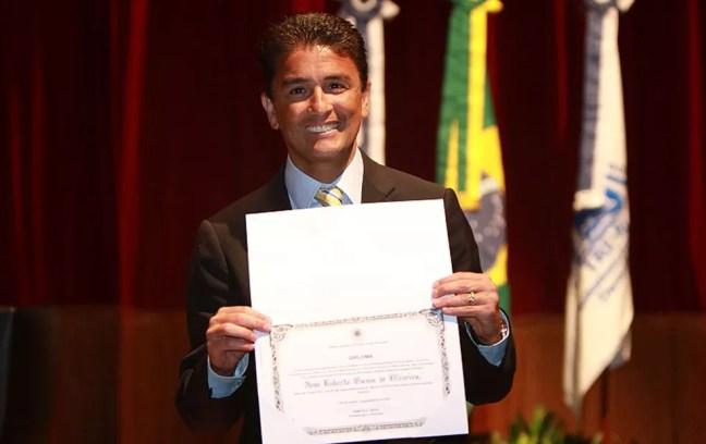 O ex-jogador e deputado estadual pelo Rio de Janeiro Bebeto — Foto: Rafael Wallace / Alerj
