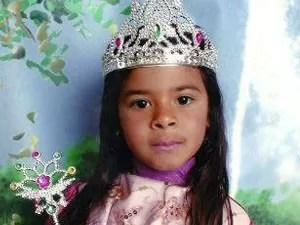 Polícia investiga morte de menina em Bom Sucesso.  (Foto: Reprodução EPTV)