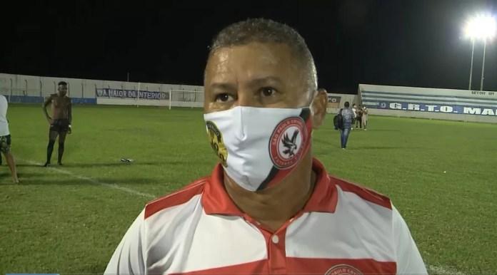 Ramiro Souza tem a missão de levar o São Paulo Crystal pela primeira vez a uma semifinal de Campeonato Paraibano — Foto: Reprodução / TV Cabo Branco