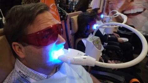 Lasers dentários, uma boa opção (Foto: Reprodução/AFP)