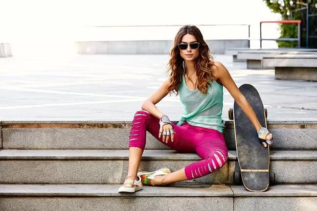 Thaila Ayala em campanha de moda (Foto: Divulgação / Caju Brasil - Marcelo Ringo)