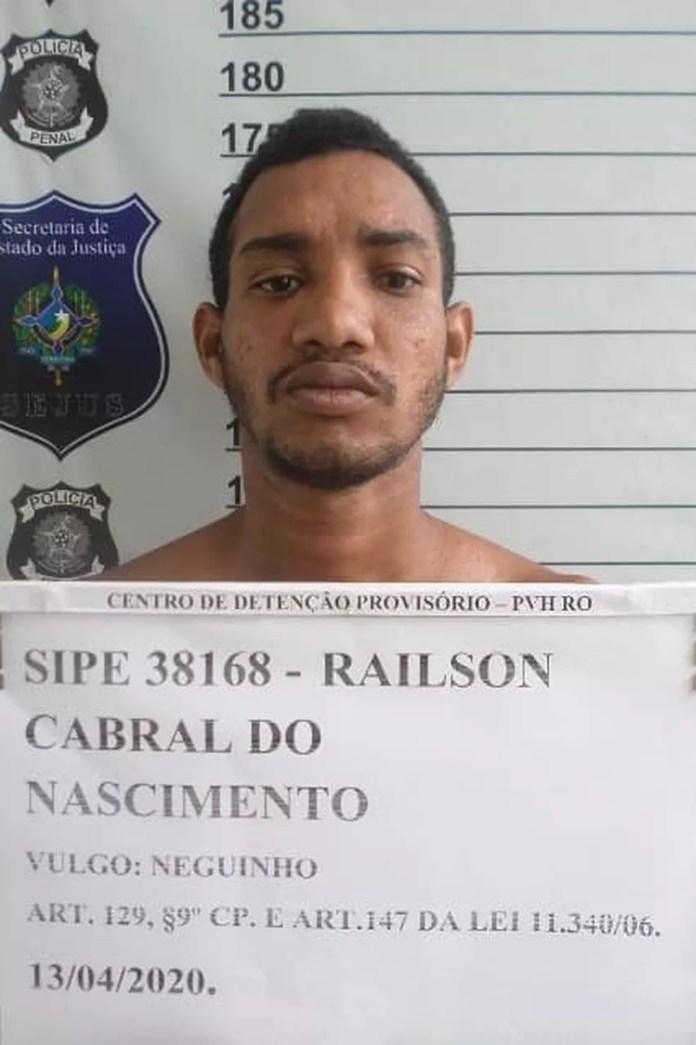 Railson Cabral do Nascimento — Foto: Aspra/Divulgação