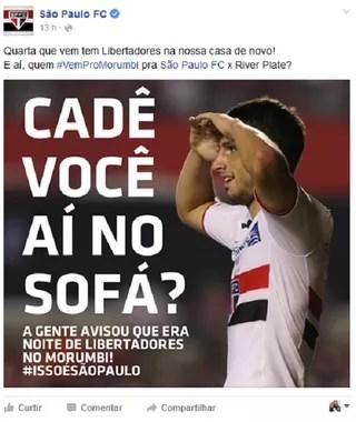 print são paulo facebook (Foto: Reprodução/Facebook)
