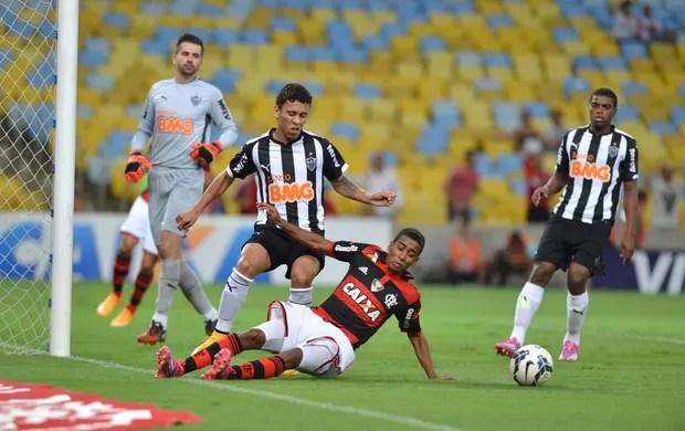 Flamengo x atlético-MG (Foto: André Durão / Globoesporte.com)