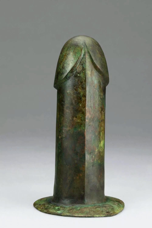 Vibrador rústico de bronze (Foto: Divulgação/ Yizheng Museum)