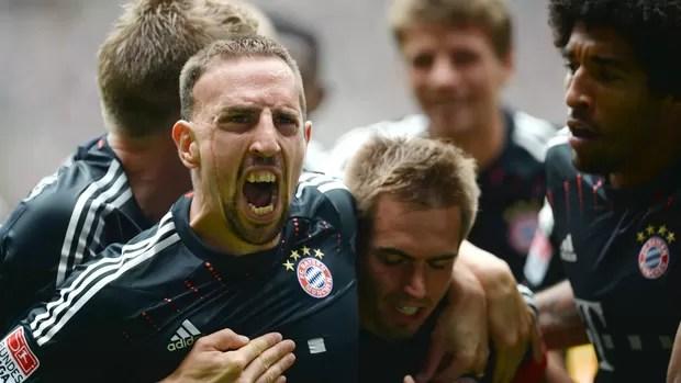 Franck Ribéry Bayern de Munique (Foto: AFP)