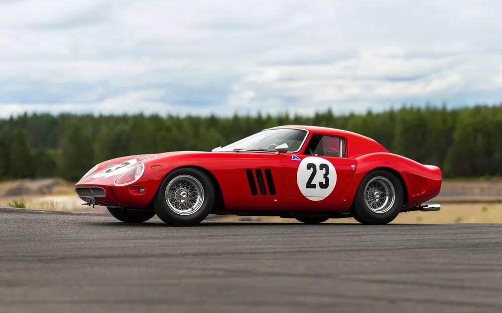 Ferrari 250 GTO, de 1962, deve ser leiloada por pelo menos US$ 45 milhões em agosto (Foto: Patrick Ernzen/Divulgação/RM Sotheby's)