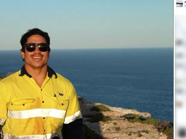 O turista australiano Rye Hunt, que desapareceu no dia 21 de maio no Rio de Janeiro (Foto: Reprodução/Facebook)