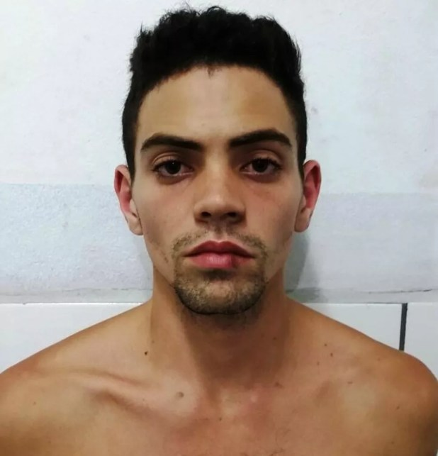 Pedro Miranda admitiu que matou a irmã, Vitória, a facadas em Mongaguá, SP (Foto: Divulgação/Polícia Civil)