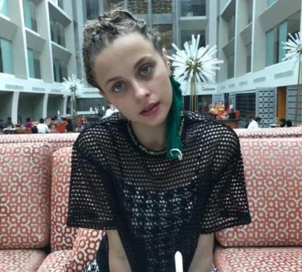 Actress and model Alexandra Djavi (Photo: Reproduction/Instagram)