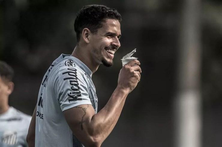 Lucas Veríssimo, zagueiro do Santos — Foto: Ivan Storti/Santos FC