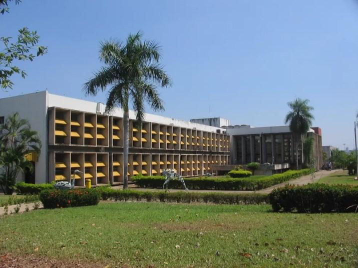 Universidade Federal do Mato Grosso (UFMT) — Foto: Mateus Hidalgo