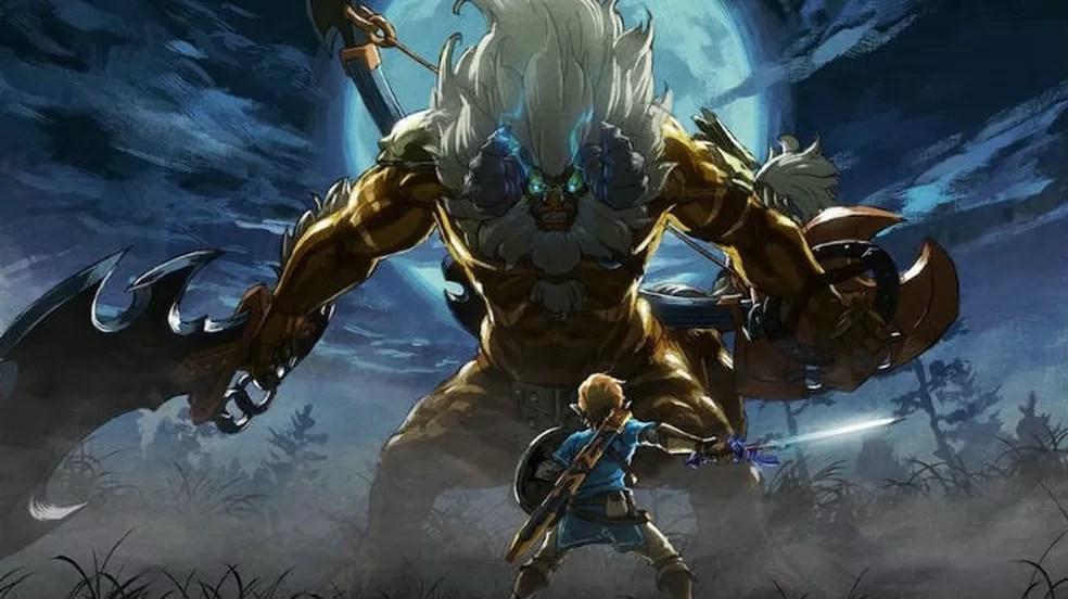 The Legend of Zelda Breath of the Wild: DLC trouxe muito conteúdo novo ao game (Foto: Divulgação / Nintendo)