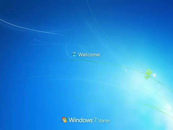 Iniciando uma versão do Windows Starter (Foto: Divulgação/Microsoft)