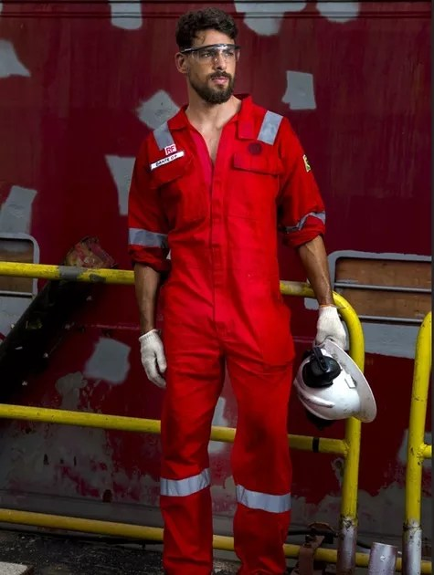 Cauã Reymond em 'Ilha de ferro' (Foto: Globo/ Marília Cabral)