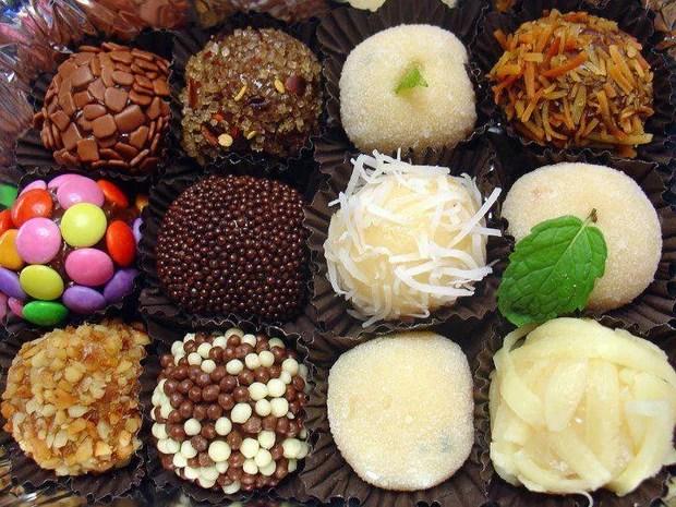 Brigadeiros, Chocolate, Vários sabores, Sweet Amado